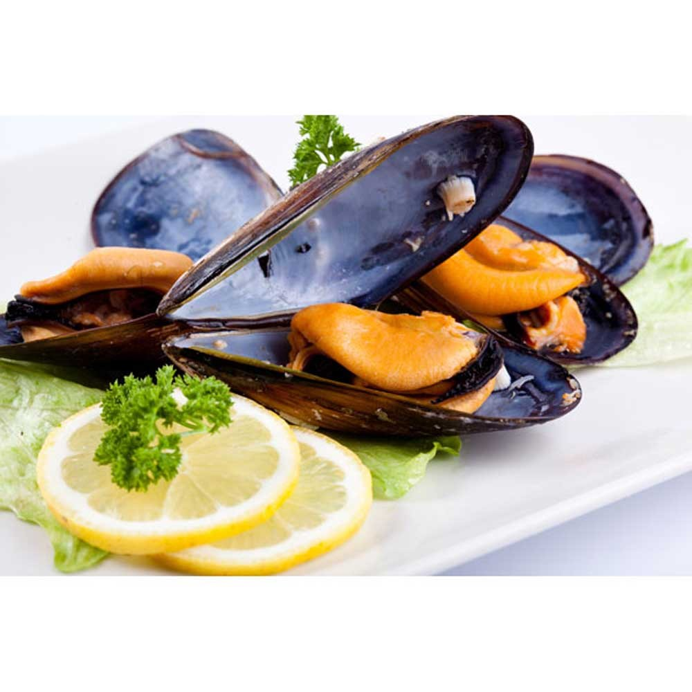 NZ Half Shell Mussels